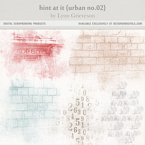 Hint at it urban photoshop texture brushes brick