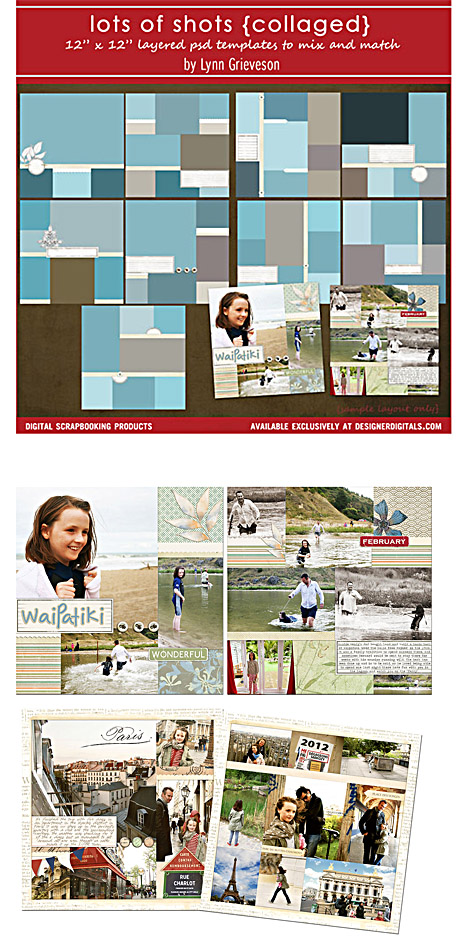Lots-of-shots-collaged-photobook-templates