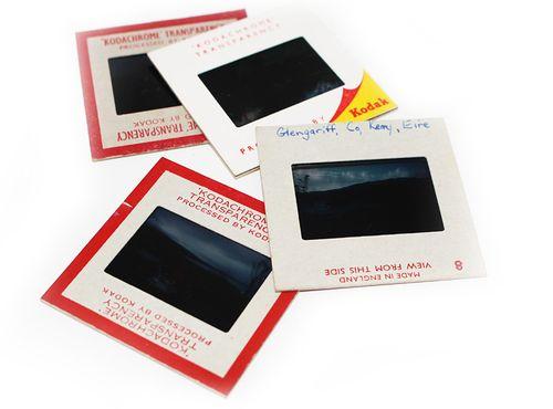 Photographic slides