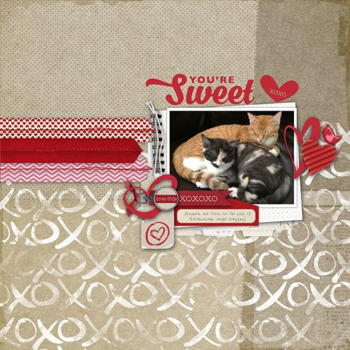 Cat-scrapbook-page