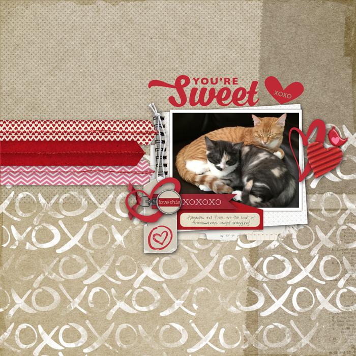 Cat-scrapbook-page