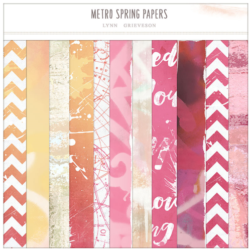 graffiti and urban chevron digital scrapbook papers