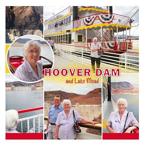 Travel photobook layout 3