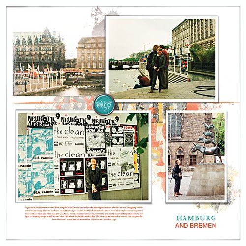 Travel photobook layout 6