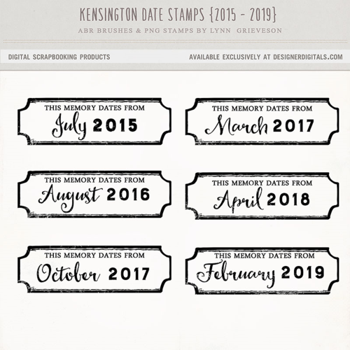digital date stamps