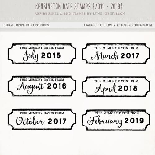 digital date stamps