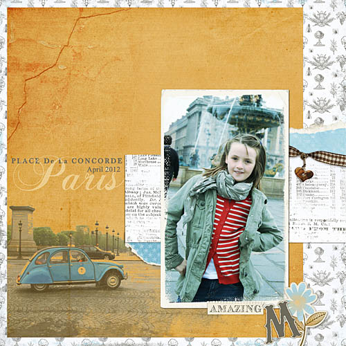 Travel photobook layout 7
