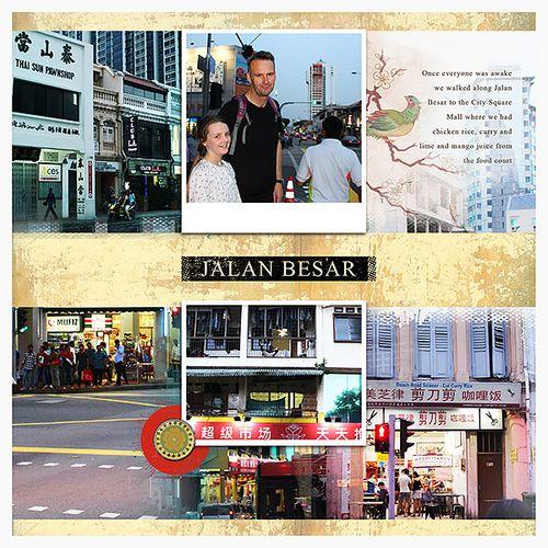 Travel photobook layout 2