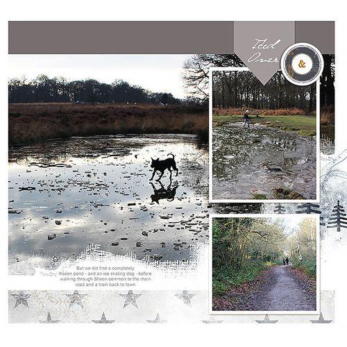 Travel photobook layout 9