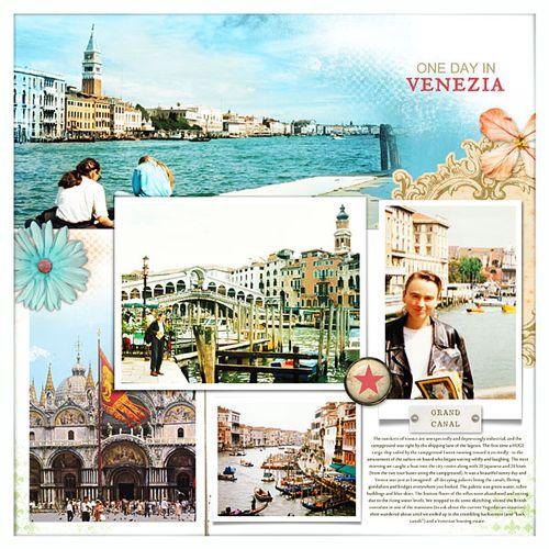 Travel photobook layout 10