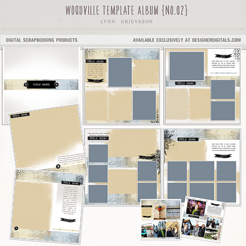 photobook templates for photoshop digital scrapbooking travel vacation