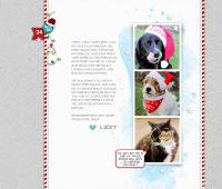 Cat-dog-digital-scrapbook-page