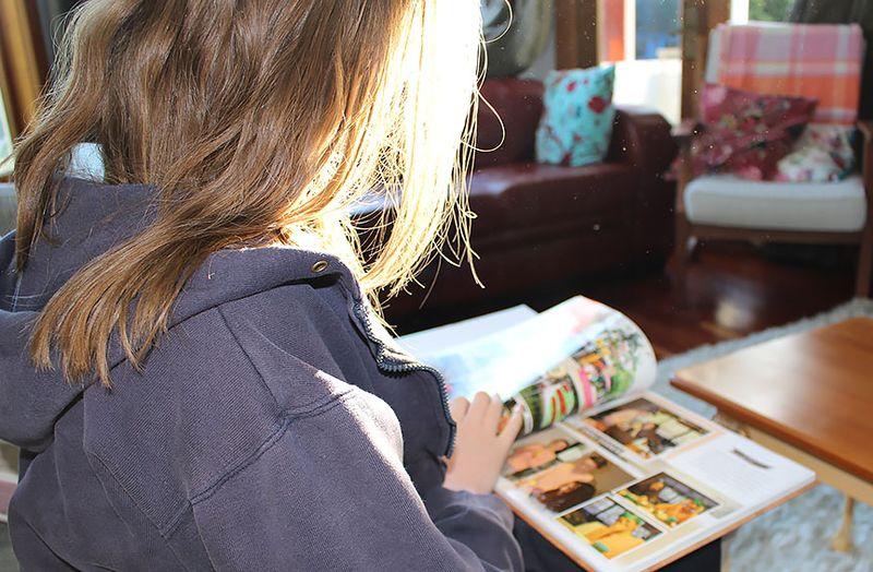 Reading-photobook